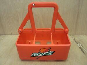 Gatorade Sports Drink 6-Bottle Carrier Hydration Caddy Holder Orange No Bottles