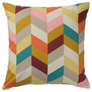 """Brand New IKEA HANNELISE Multicolor Cushion 20x20 """" 504.474.42 LIMITED"""