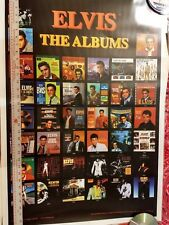 ALL ELVIS LP POSTER, EXCELLENT CONDITION, Awesome Original