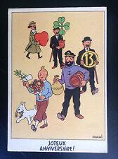 Ancienne carte postale Casterman Tintin TRES BON ETAT