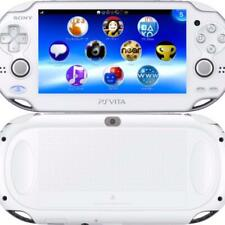Used PS Playstation vita Wi-Fi Crystal White Japan Limited Cable PSVita Console