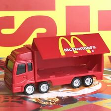 McDonald's Truck Car Figure Toy Red