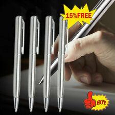 10pcs Students Plastic Ball-point Pen Short Spin School Teens Supplies O