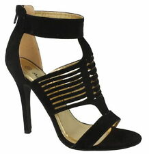 Party Strappy Slim Heels for Women