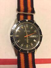 Vintage Waltham 25-Jewel Automatic Incabolic Dive Diver Watch Wristwatch