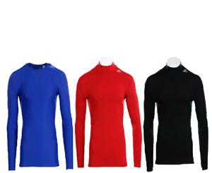 Adidas Techfit Base Longsleeve Shirt Langarmshirt ROT SCHWARZ BLAU S M L XL 2XL