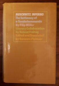 Auschwitz Inferno: Testimony of a Sonderkommando by Filip Muller (Hardback Book)
