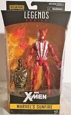 "Sunfire Marvel Legends X-Men Wave 2 Series 6"" Figure Warlock BAF"