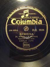 78 GIRI  CARLO BUTI canta BAMBINA & LUNA MARINARA