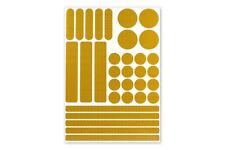 3M™ Stickerset 33teilig Aufkleber Sticker RA2 reflektierend selbstklebend gelb