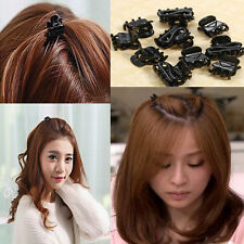 10 Mixed Small Plastic Black Hair Clips Hairpin Claws Clamps Popular