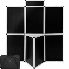 """tectake 403037 Folding Display Board, 79x71"""" - Black"""