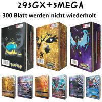 NEUE 300 STÜCKE Original GX MEGA Pokemon Karte Pokémon Karte Art Trading Cards