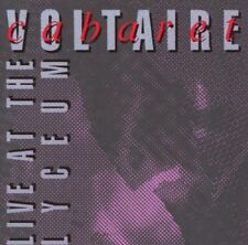 Cabaret Voltaire - Live At The Lyceum NEW CD