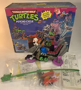 Vintage TMNT Teenage Mutant Ninja Turtles Psycho Cycle New Open Box