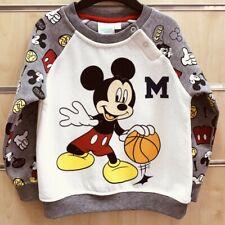 Disney Mickey Maus Baby Pullover grau 65 % Polyester & 35% Baumwolle NEU