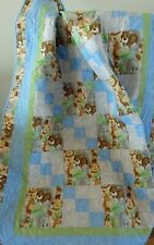 Baby Animal Zoo Quilt, Measures 46 by 40 inches, Lightweight but Warm and All Co
