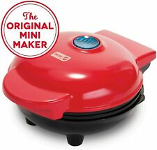 Mini Maker Electric Round Griddle for Individual Pancakes, Cookies, Eggs & other