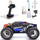 New RC Car 1:10 Scale Nitro Gas Power 4wd Off Road Monster Truck High Speed RTR