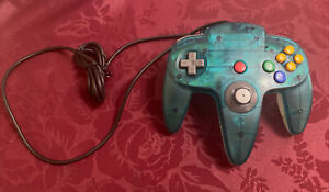 Nintendo 64 N64 Official Controller - Clear Ice Blue N64