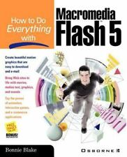How To Do Everything with Macromedia Flash 5 Bonnie Blake Paperback