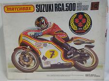 MOTORE MOTO: SUZUKI RGA.500 Kit Modellino in scala 1/12 fatta da MATCHBOX nel 1985