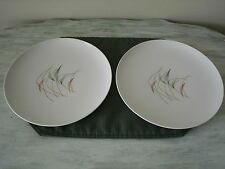 Franciscan SWING TIME Dinner Plates Mid Century Atomic Boomerang Crescent Moon