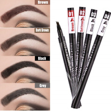 Eyebrow Microblading Tattoo Pen 2pcs Waterproof  Fork Tip Sketch Eyeliner stick