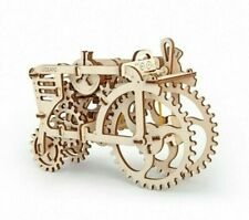 3d puzzle UGears Mechanical Model Car Wooden model Tractor Toy