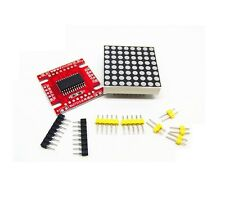 1PCS Red MAX7219 dot matrix module Arduino microcontroller module DIY KIT