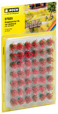 "Noch 07025 Tufts of Grass XL "" Flowering "", Red # NEW original packaging ##"