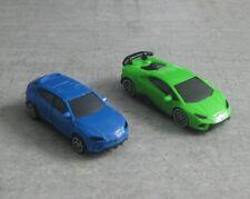Lamborghini Auto Serie Kinder Überraschungsei Ü Ei NEU DV233 DV234 blau + grün