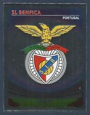 PANINI UEFA CHAMPIONS LEAGUE 2007-08- #060-BENFICA TEAM BADGE-SILVER FOIL