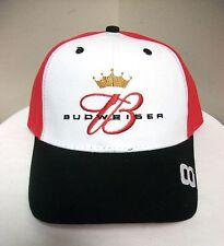 NEW WINNER'S CIRCLE NASCAR HAT DALE EARNHARDT JR #8 WHITE BUDWEISER CAP