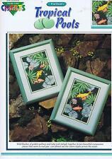 Tropical Pools (Koy Carp Fish) Cross Stitch Chart Pattern - Paul Brent-2 Designs