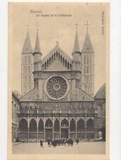 Tournai Facade de la Cathedrale Belgium Vintage Postcard 230a