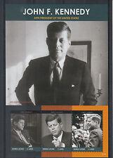 Sierra Leone 2012 MNH John F Kennedy 50th Memorial Anniv 3v M/S JFK President