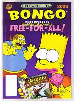BONGO COMICS FREE-FOR-ALL, Bart Simpson, FCBD,2008, NM