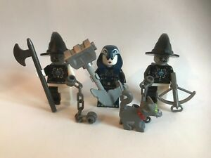 LEGO parts only - zombie world - 3 X ZOMBIE WARRIOR HALLOWEEN Simpson cat ghost