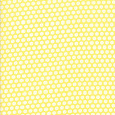 Bonnie & Camille Basics Yellow Bliss Dot 55023-30 Quilting Cotton Fabric