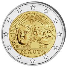 ITALIE 2 Euro Commemorative Titus Maccius Plautus 2016 UNC