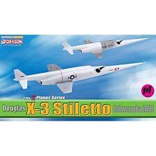 Dragon Warbirds 51028 1/144 Douglas X-3 Stiletto, Edwards AFB Model Planes 2-pc