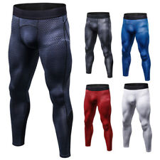 Men's Quick Dry Print Tight Sports Trousers Fitness Running Training Pants