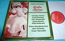 Emmerich Kalman, Christine Gorner, Gretel Hartung Countess Maritza Acanta LP NM