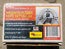 Magna-Set W1214 Magnetic Planer Knife Setting Jig
