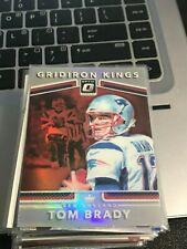 Tom Brady 2017 Donruss Optic Gridiron Kings #16 REFRACTOR PATRIOTS! kvx3