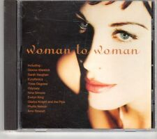 (GM300) Woman To Woman, 10 tracks various artists - 1997 CD