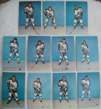 Lot Of (11) Diff 1972-73 CLEVELAND CRUSADERS WHA Hockey Player Postcards