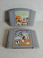 Star Wars Episode 1 Racer N64 Nintendo 64 Authentic Cart Only Rogue Squadron