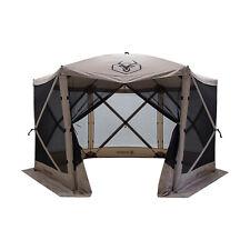 Gazelle Pop Up 8 Person Camping Gazebo Day Tent w/ Mesh Windows (Open Box)